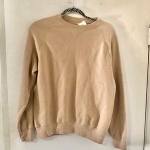 John Galt COCOA Pullover Sweatshirt New With Tag